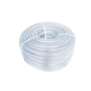 PVC WHITE STEEL WIRE REINFORCED