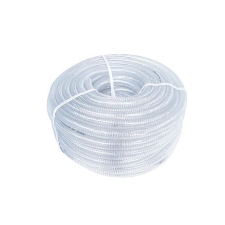 PVC WHITE STEEL WIRE REINFORCED