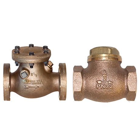 Bronze Check Valve Screwed & Flanged